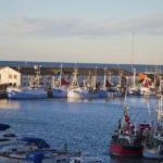 Havnen i Hirtshals er en af landets største fiskerihavne