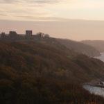Det er også på nordspidsen af øen Hammershus ruinerne er